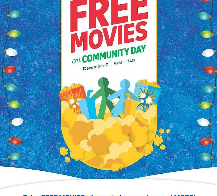 Cineplex Community Day!